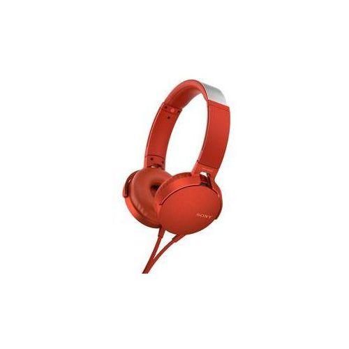 Słuchawki Sony MDR-XB550AP Extra Bass™ (MDRXB550APR.CE7) Czerwona