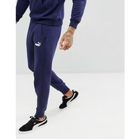 Puma Essential Skinny Joggers In Navy 85175306 - Navy, kolor szary
