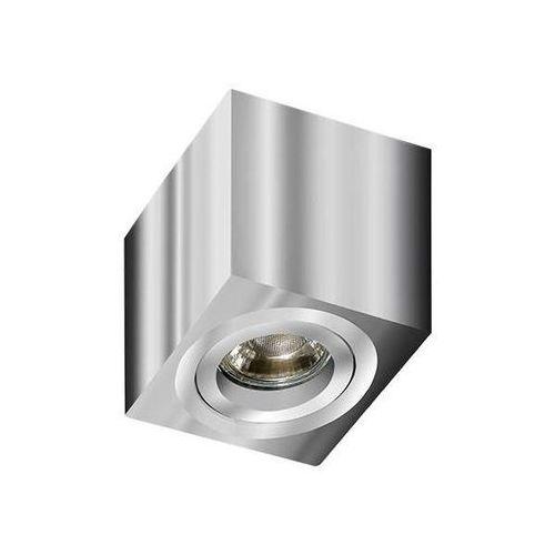 Spot LAMPA sufitowa MINI ELOY GM4006 CH Azzardo natynkowa OPRAWA metalowa DOWNLIGHT cube kostka chrom