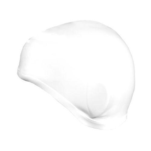 Czepek silikon z uchem earcap 837425 biały marki Spokey