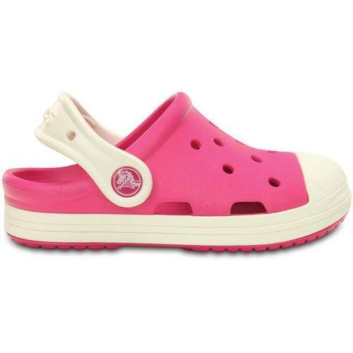 Crocs bump it sandały kąpielowe candy pink/oyster (0887350477382)