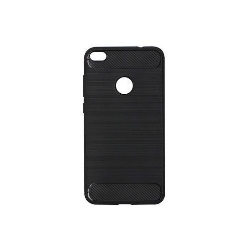 Huawei P9 Lite (2017) - etui na telefon Forcell Carbon - czarny, kolor czarny
