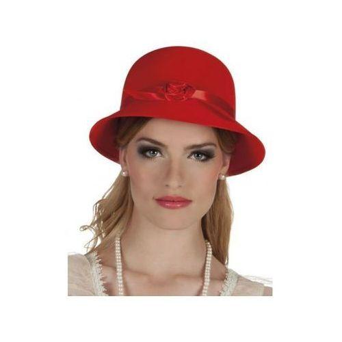 Kapelusz damski Lady Charleston czerwony