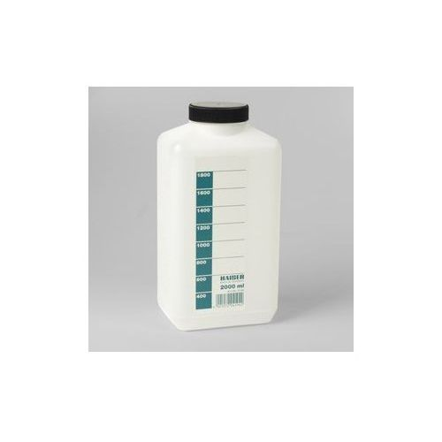 butelka na chemię - biała 2l marki Kaiser