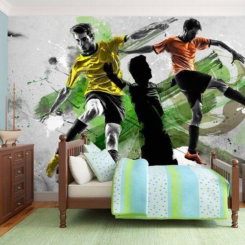 Artgeist Fototapeta - gwiazdy futbolu