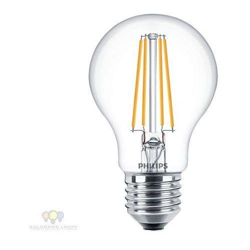Philips 8718696767023 żarówka filament led a60 e27 7w = 60w 850lm 4000k (8718696767023)