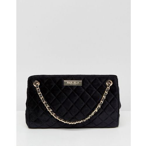 Carvela Rachel Velvet Tote Bag - Black
