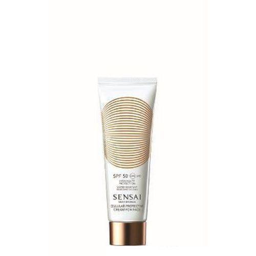 Silky Bronze Cellular Pretective Cream For Face krem ochronny do twarzy SPF50 50ml
