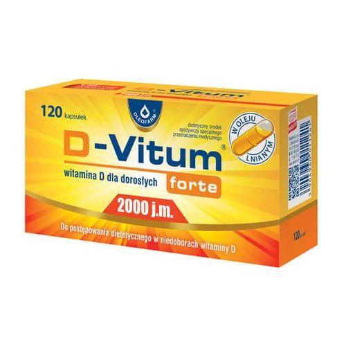 Kapsułki D-Vitum Forte® 2000 j.m Witamina D - 120 kaps