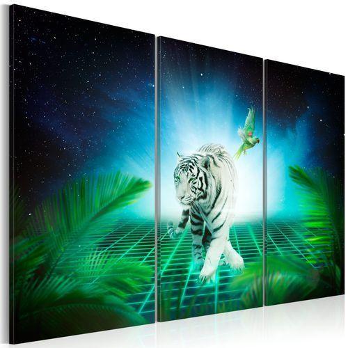 Obraz - Lodowy tygrys
