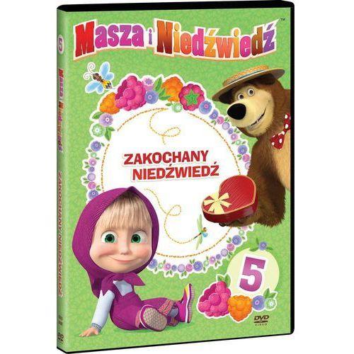 Masza i Niedźwiedź. Część 5: Zakochany Niedźwiedź. DVD z kategorii Seriale, telenowele, programy TV