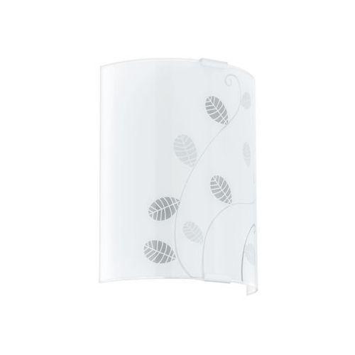 Kinkiet arlena 92168 1x60w e27 biały, szary marki Eglo