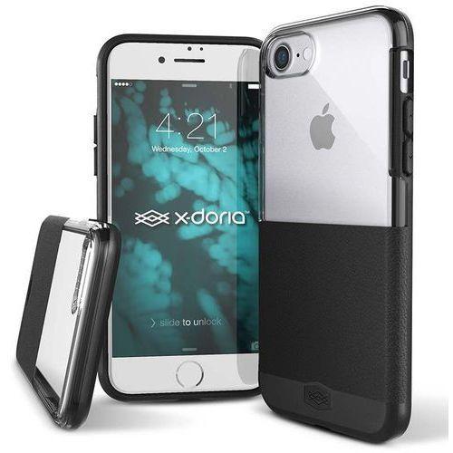 dash - etui iphone 8 / 7 (black leather) marki X-doria