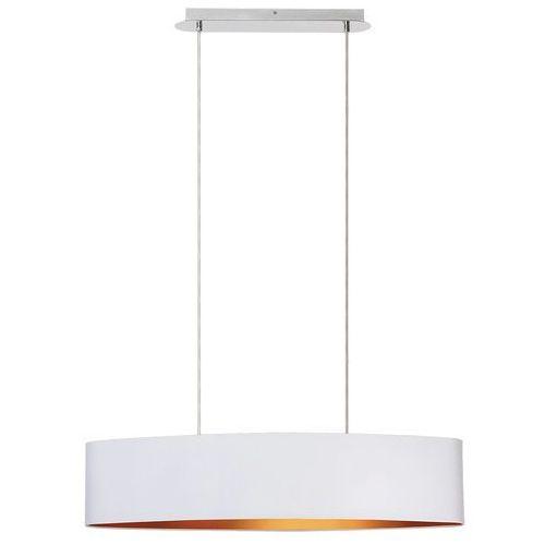 Rabalux Lampa wisząca monica 2532 2x60w e27 biały/złoty/chrom