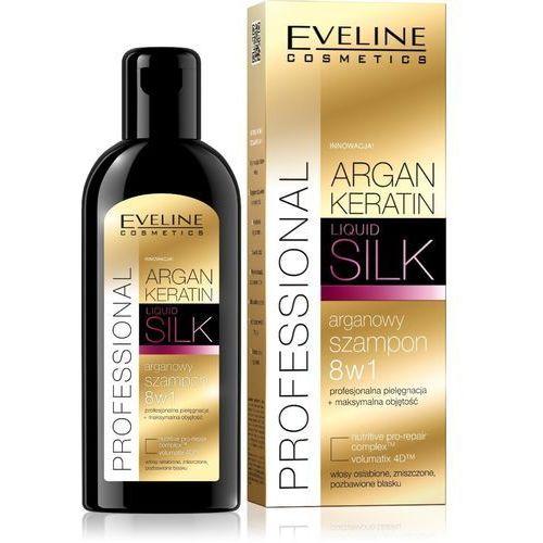 , argan & keratin liquid silk. szampon do włosów, 150ml - eveline od 24,99zł darmowa dostawa kiosk ruchu marki Eveline