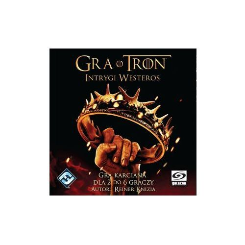 OKAZJA - Galakta Gra o tron: intrygi westeros. gra planszowa