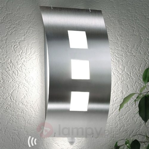 Lampa ścienna zewnętrzna toma z czujnikiem marki Cmd creativ metalldesign gmbh