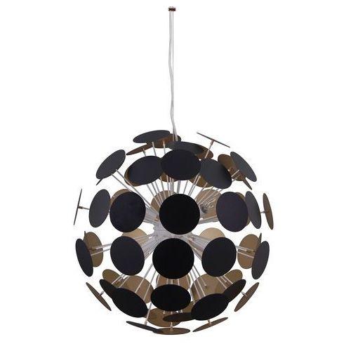 Italux Lampa wisząca mailone 6 x 40 w e14 czarna/matt (5900644435990)