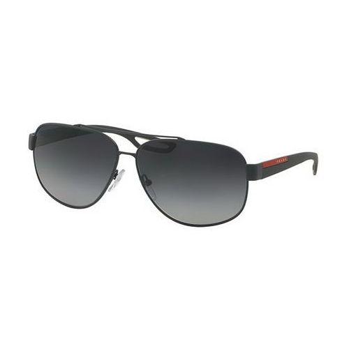 Okulary słoneczne ps58qs lj silver polarized tfz5w1 marki Prada linea rossa