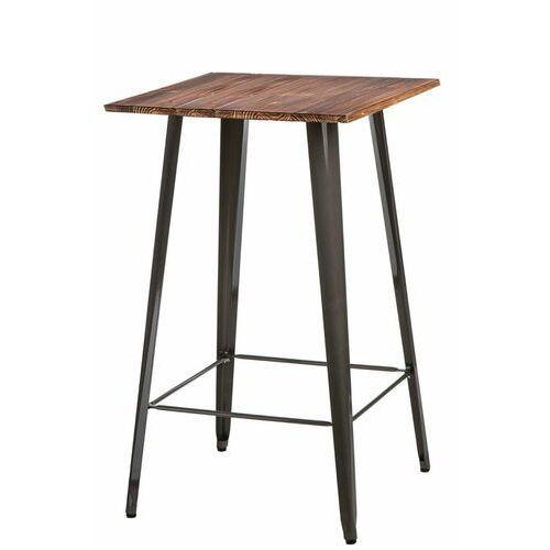 Stół barowy paris wood metaliczny sosna marki D2.design