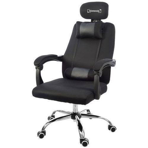 Fotel biurowy GIOSEDIO czarny, model GPX004