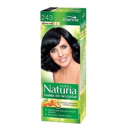 Joanna Naturia Color Farba do włosów Czarny Bez nr 243, kolor czerń