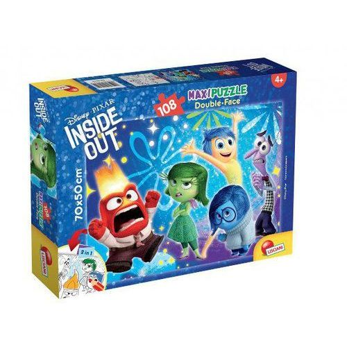 Lisciani Puzzle maxi double face inside out 108