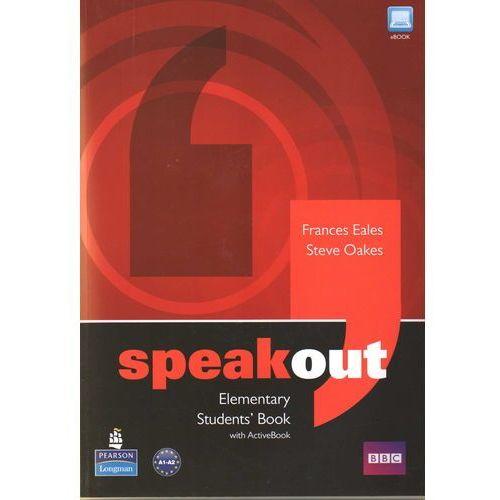 Speakout Elementary Students' Book Z Płytą Dvd, oprawa miękka