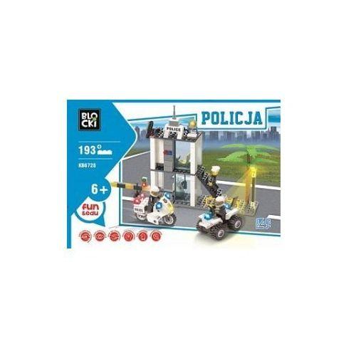 Icom Klocki blocki policja posterunek 193 elementy