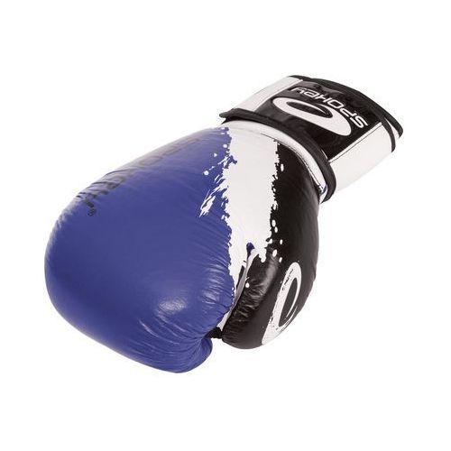 Rękawice bokserskie SPOKEY Oni Niebieski (10 oz) + DARMOWY TRANSPORT! - sprawdź w wybranym sklepie