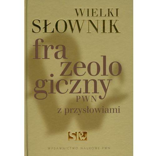 Wielki słownik frazeologiczny PWN z przysłowiami (838 str.)