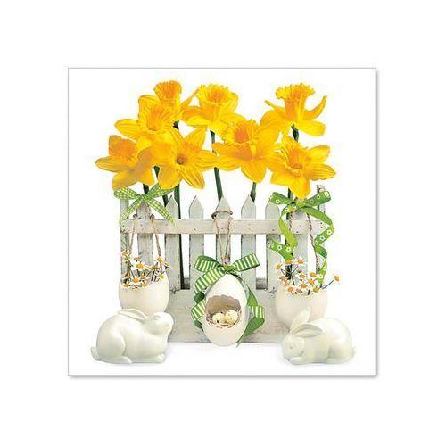 Serwetki Daisy 33x33 cm SDWL 004701 Wielkanoc [20 szt.] (5901646010314)