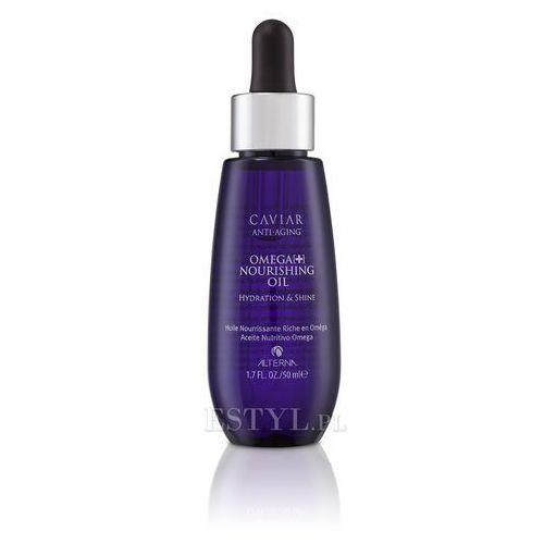 Alterna Caviar Omega [+] Nourishing Oil - intensywnie nawilżający olejek 50ml z kategorii Odżywianie włosów