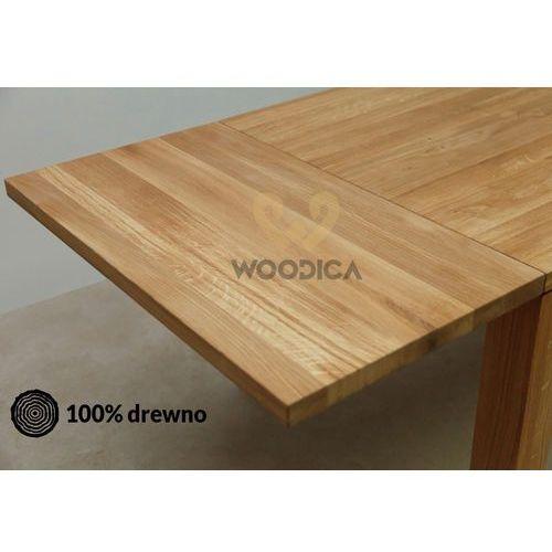 Woodica Dostawka do stołu dębowego klasycznego 50x75x100
