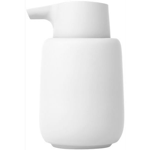 Dozownik do mydła ceramiczny blomus sono biały (b66273) (4008832783975)