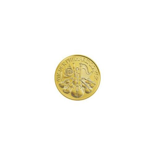 1 uncja Złoty Wiedeński Filharmonik - Złota Moneta - Dostawa 14 dni z kategorii numizmatyka, filatelistyka