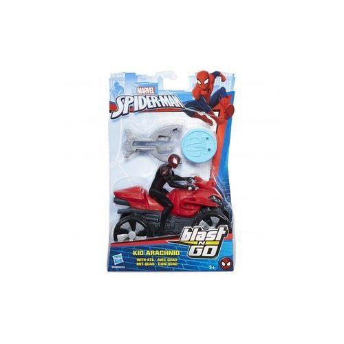 Spider-man scigacz blast kid arachnid with atv marki Hasbro