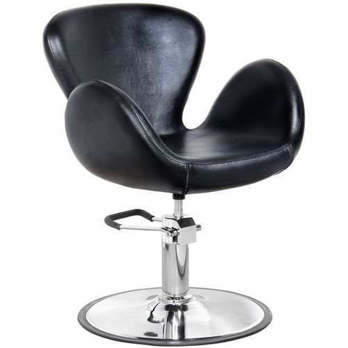Activ Fotel fryzjerski amsterdam czarny gabbiano