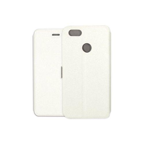 Etuo wallet book Huawei y6 pro (2017) - etui na telefon wallet book - biały