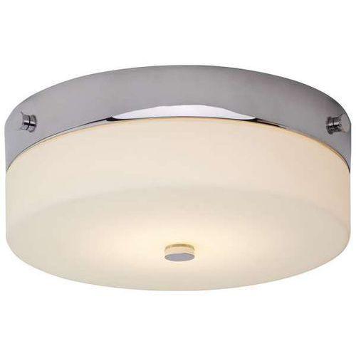 Plafon LAMPA sufitowa TAMAR BATH/TAM/F/M PC Elstead okrągła OPRAWA do łazienki klasyczna IP44 chrom biała (1000000551433)