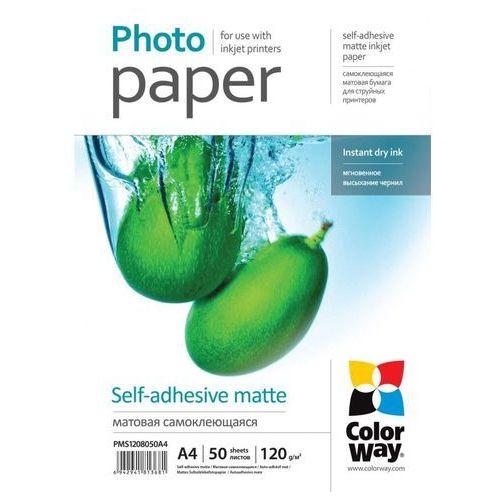 Arsej papier samoprzylepny matowy  a4 120g marki Colorway