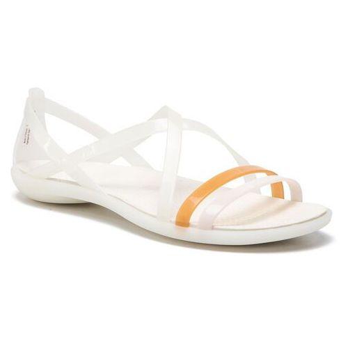 Sandały CROCS - Isabella Strappy Sandal W 204915 Oyster 8c4fd893cb