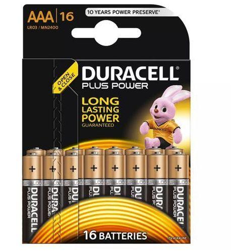 Duracell Plus Power AAA (MN2400/LR03) Darmowy odbiór w 20 miastach!, 018693