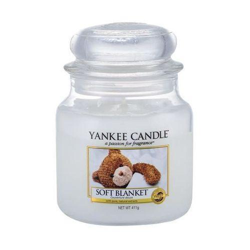 Świeca YANKEE słoik średni Soft Blanket - YSSSB1