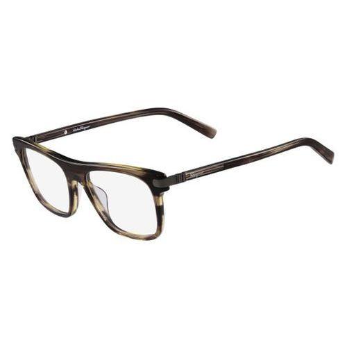 Salvatore ferragamo Okulary korekcyjne sf 2759 216