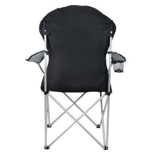 Malatec Krzesło wędkarskie czarno-szare
