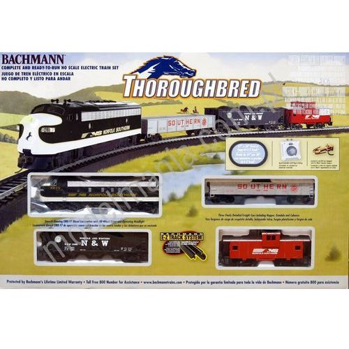 "Zestaw startowy ""Thoroughbred"" Bachmann 00691"
