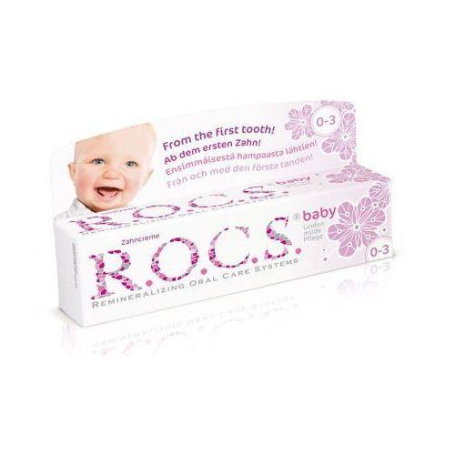 R.O.C.S. Baby Lime-Blossom pasta do zębów dla dzieci 35 ml (4607034470531)