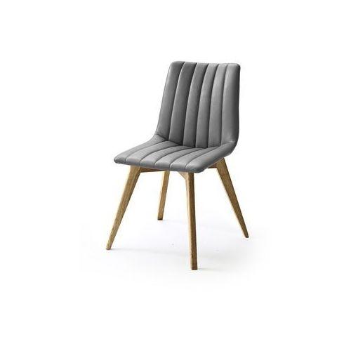 Krzesła nowoczesne LILIA stelaż drewniany - własna kompozycja