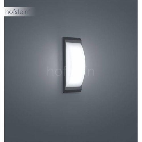 Helestra Kapo Zewnętrzny kinkiet LED Siwy, 1-punktowy - Nowoczesny - Obszar zewnętrzny - Kapo - Czas dostawy: od 3-6 dni roboczych (4022671103268)